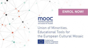 CURS ON LINE: Union of minorities. Educational tools for the European cultural mosaic